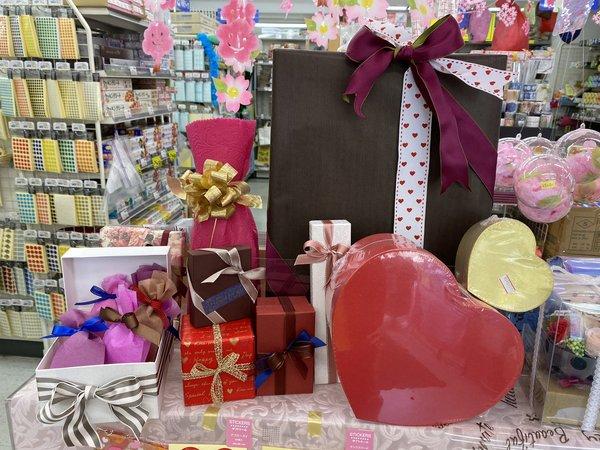 バレンタインのラッピング