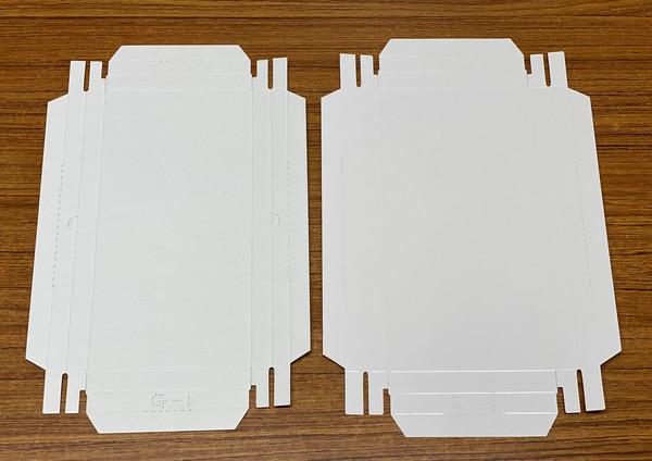 貼り箱の基本は四角い箱