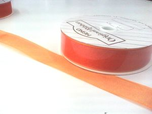 Fオーガンジーオレンジ 24mm×30m 1巻
