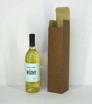 ワイン・洋酒1本用茶サック式80x80x330mm 50ケ入