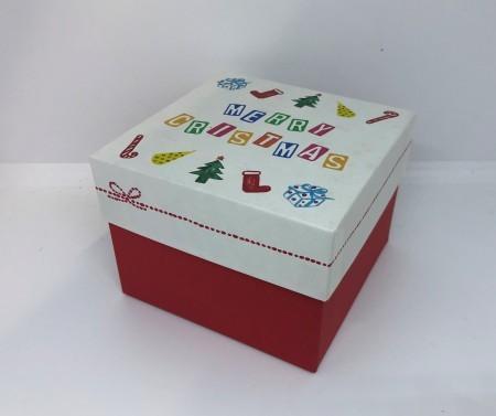 クリスマス キューブBOX