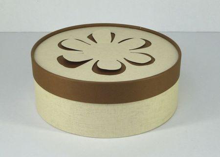 エコマル ぺトゥル(花びら)200ブラウン  直径200x高75mm